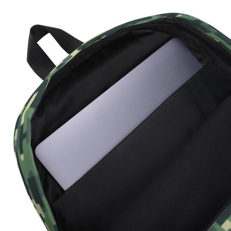 Camo Backpack - Pixel Camouflage bag-Archethype