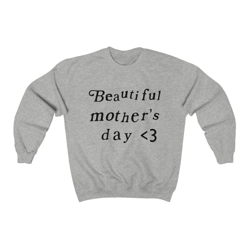 Mother's Day Kanye West Kids See Ghosts Inspired Crewneck Sweatshirt Merch-Ash-2XL-Archethype