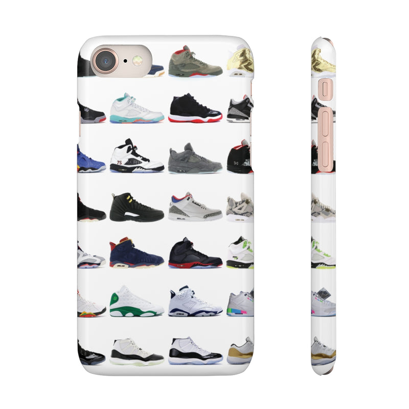 Jordan Sneakers inspired iPhone Snap Case-iPhone 8-Glossy-Archethype