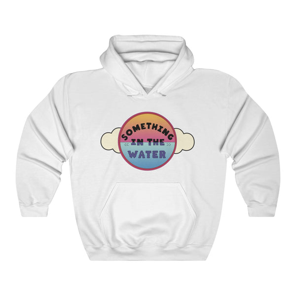 Something in the water Unisex Heavy Blend Hooded Sweatshirt - Pharrell Williams festival merch inspired-White-L-Archethype