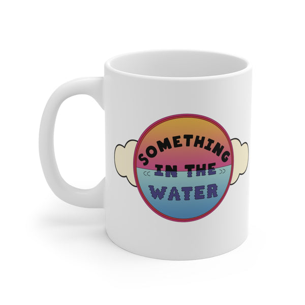 Something in the water Coffee Mug - Pharrell Williams festival merch inspired-11oz-Archethype