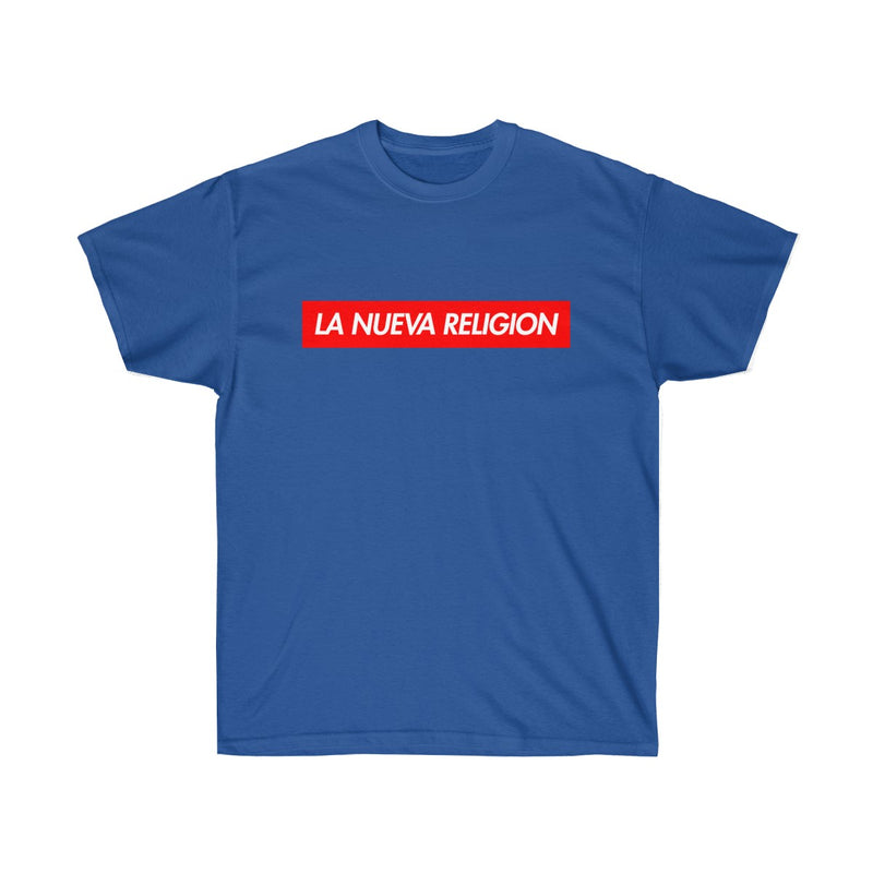 La Nueva Religion Bad Bunny Tee-Royal-S-Archethype