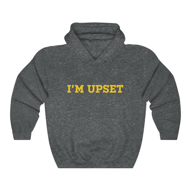 I'm Upset Drizzy Drake Scorpion Inspired Heavy Blend™ Hoodie-Dark Heather-S-Archethype