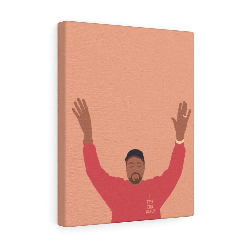 Kanye West I Feel Like Pablo Canvas Gallery Wraps - The Life of Pablo TLOP tour merch inspired-11″ × 14″-Premium Gallery Wraps (1.25″)-Archethype