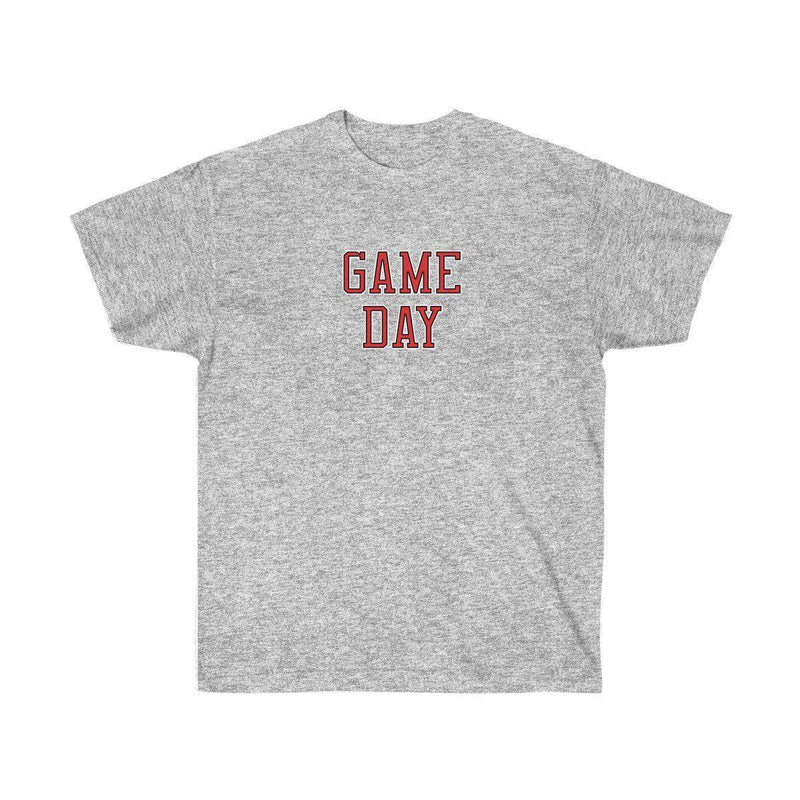 Game Day Tee - Sports T-shirt for Football, Basket, Soccer games-Sport Grey-S-Archethype