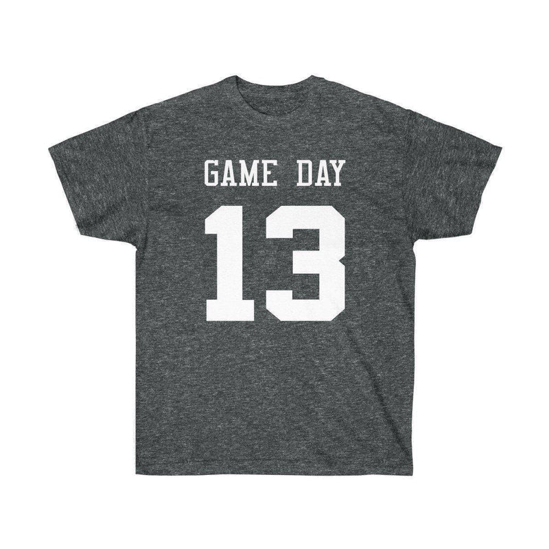 Game Day Tee - Sports T-shirt for Football, Basket, Soccer games-Dark Heather-S-Archethype