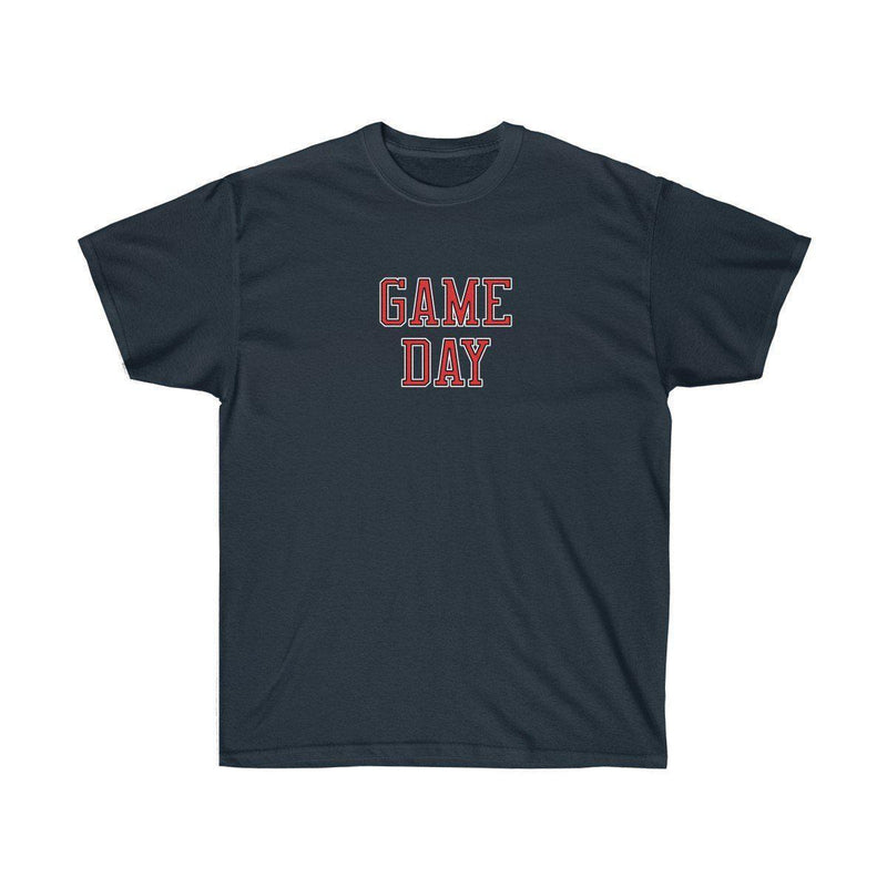 Game Day Tee - Sports T-shirt for Football, Basket, Soccer games-Navy-S-Archethype