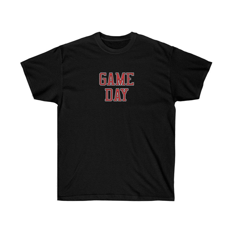 Game Day Tee - Sports T-shirt for Football, Basket, Soccer games-Black-L-Archethype