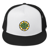 HypeMonsterz NERD Trucker Cap Inspired - Brain logo No one ever really dies-Black/ White/ Black-Archethype