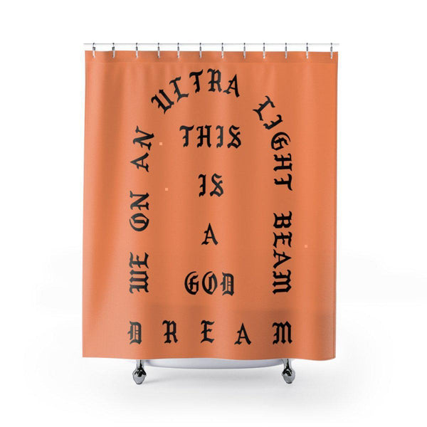 I Feel Like Pablo Shower Curtains Kanye West Merch Inspired-71x74-Archethype