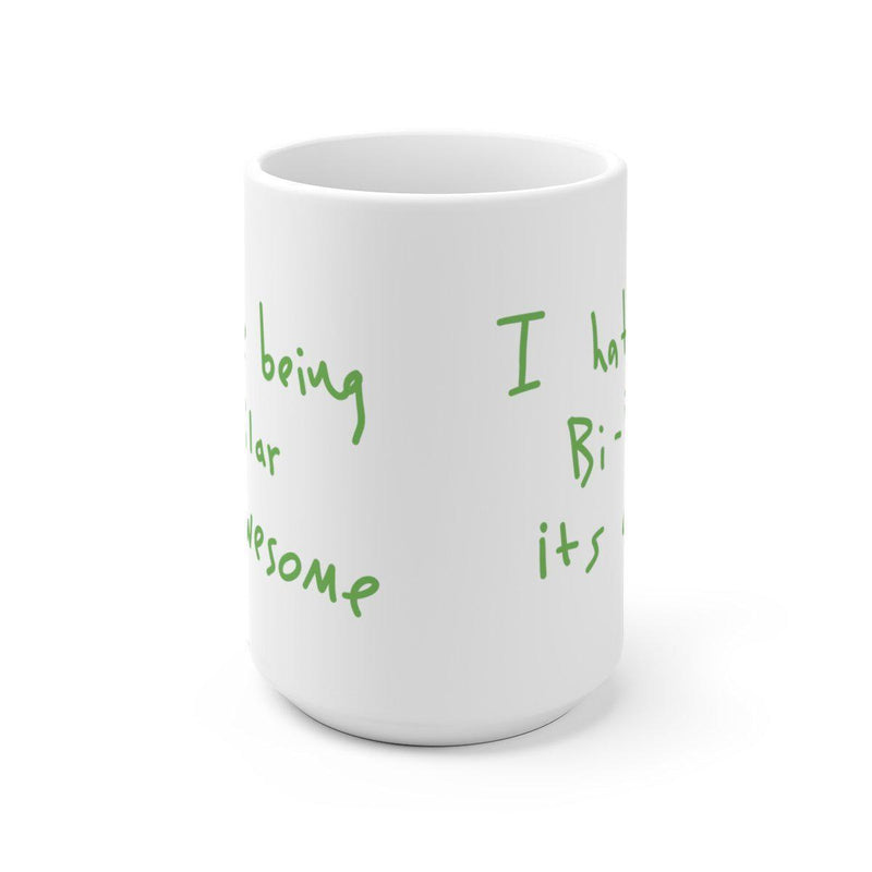 I hate being Bi-Polar it's awesome Mug - Inspired by Kanye West Album cover-Archethype
