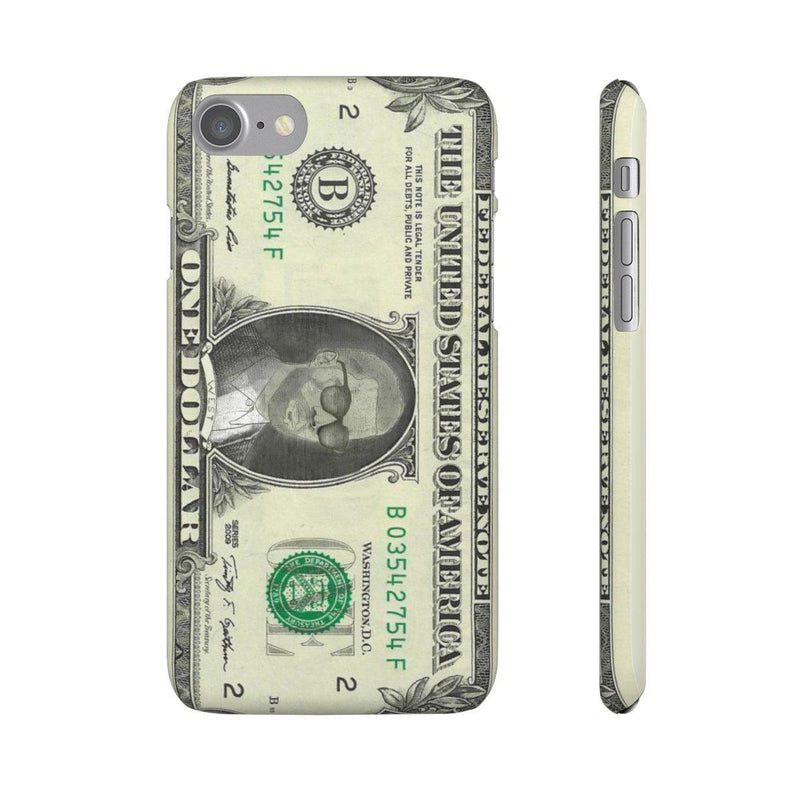 Kanye West President face on 1 dollar bill case iPhone Snap Case-iPhone 7-Matte-Archethype