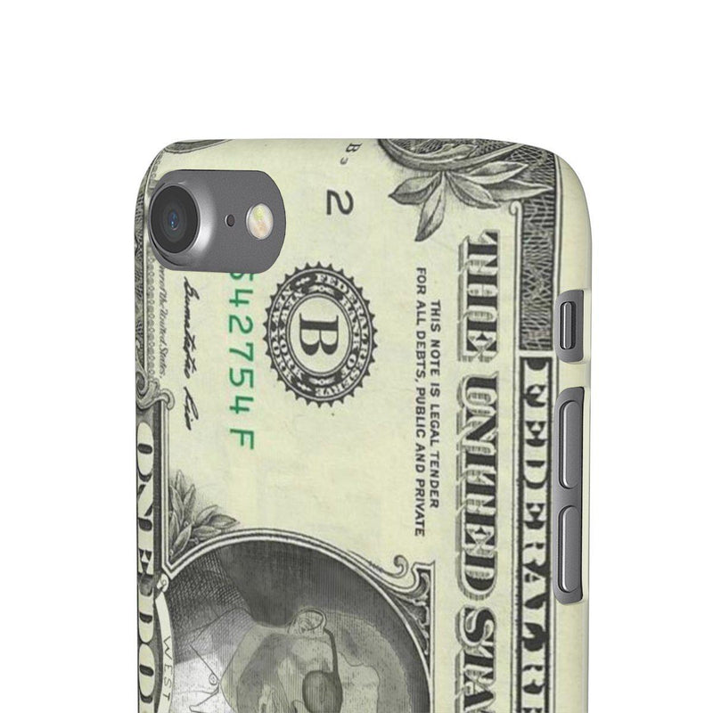 Kanye West President face on 1 dollar bill case iPhone Snap Case-Archethype