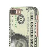 Kanye West President face on 1 dollar bill case iPhone Snap Case-iPhone 7 Plus-Glossy-Archethype