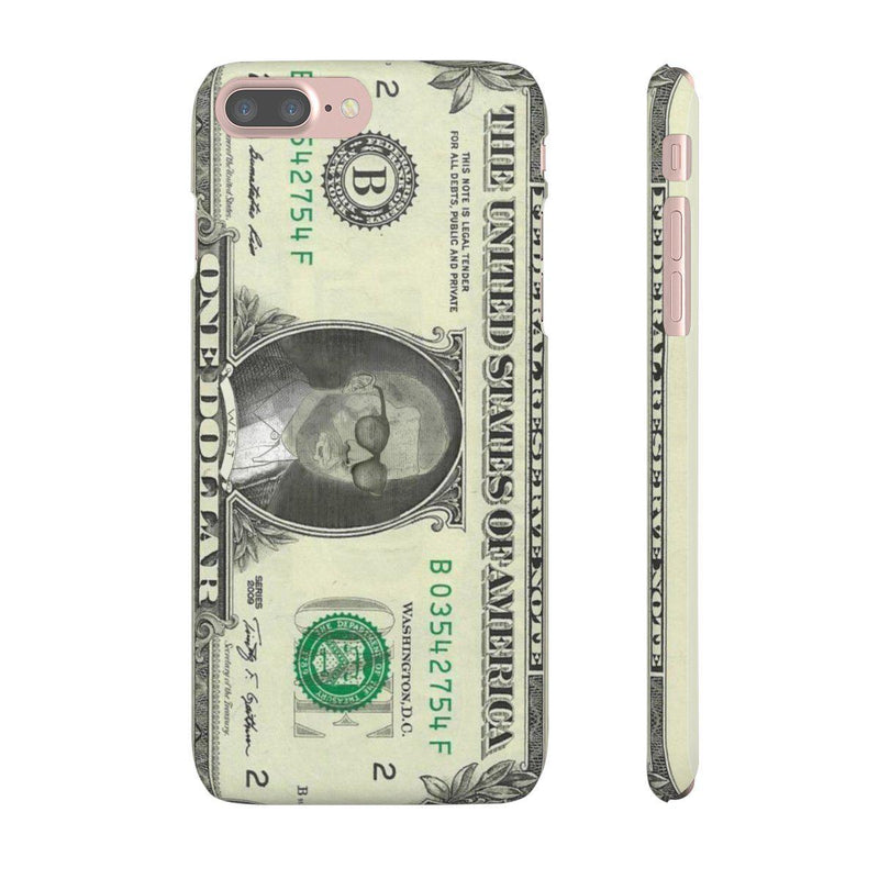Kanye West President face on 1 dollar bill case iPhone Snap Case-iPhone 7 Plus-Matte-Archethype