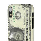 Kanye West President face on 1 dollar bill case iPhone Snap Case-iPhone XR-Glossy-Archethype