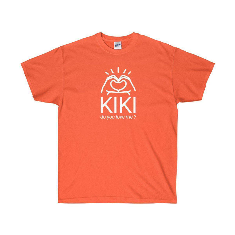 Kiki do you love me? In my feelings Drake inspired tee-Orange-S-Archethype