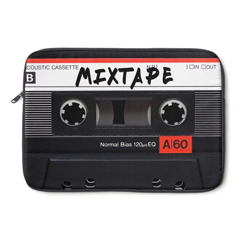Mixtape Tape Laptop Sleeve - 90S Retro Hip Hop laptop protection-Archethype