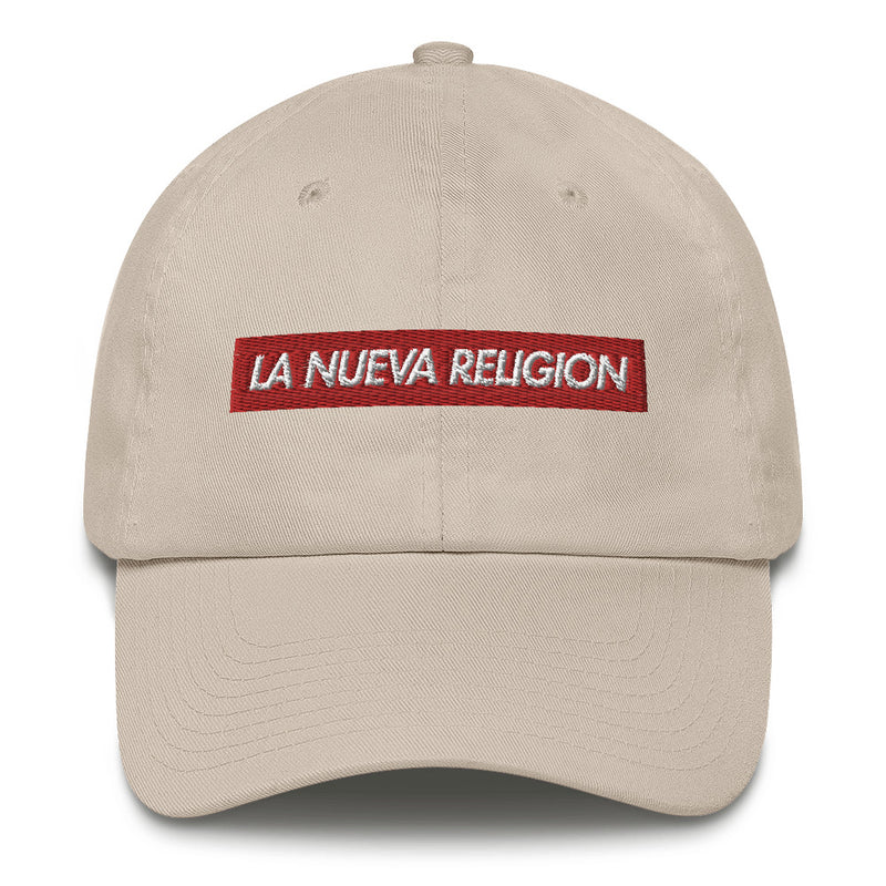 La Nueva Religion Bad Bunny inspired Bogo Made in USA Cotton Dad Cap-Stone-Archethype