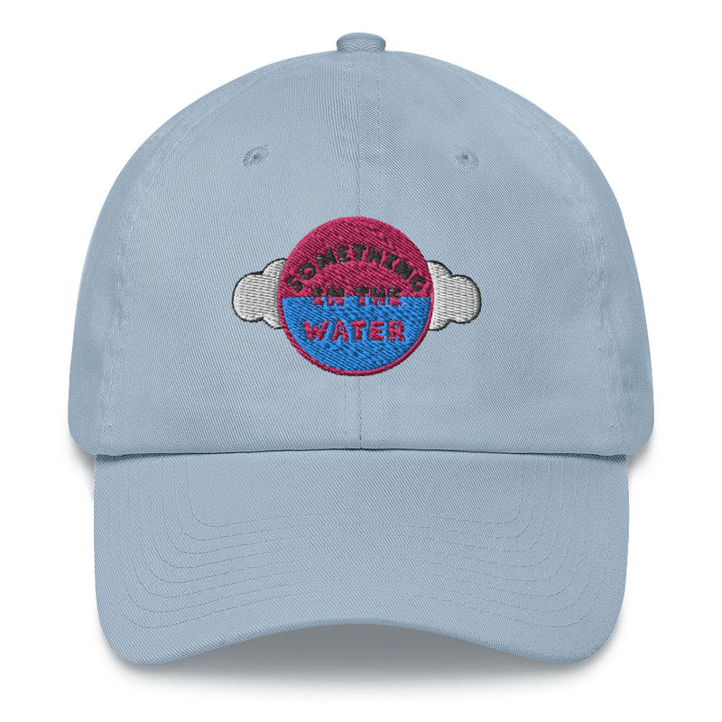 Something in the water Dad hat - Pharrell Williams Festival Merch inspired-Light Blue-Archethype