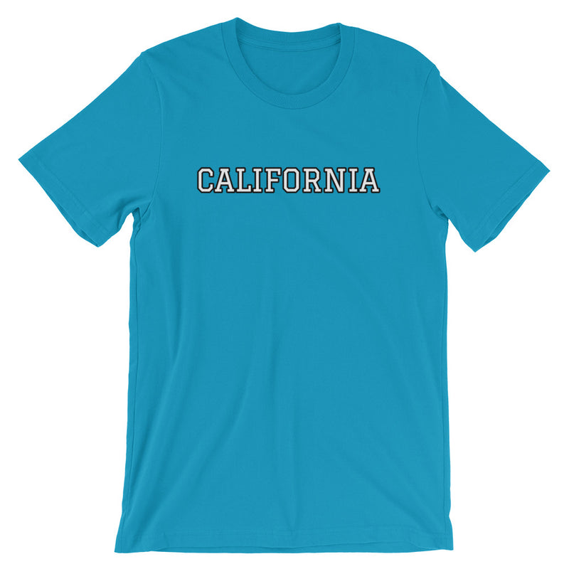 Personalized College T-Shirt-Aqua-S-Archethype