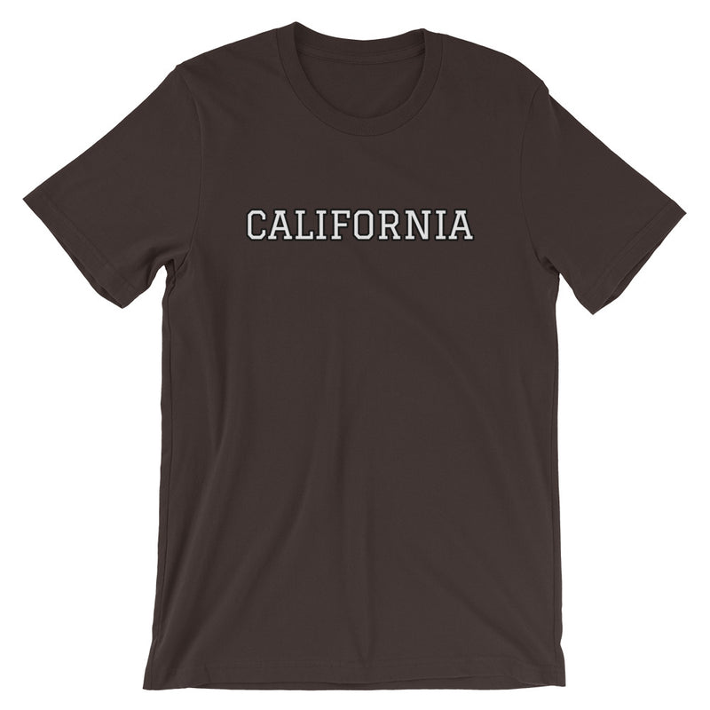 Personalized College T-Shirt-Brown-S-Archethype