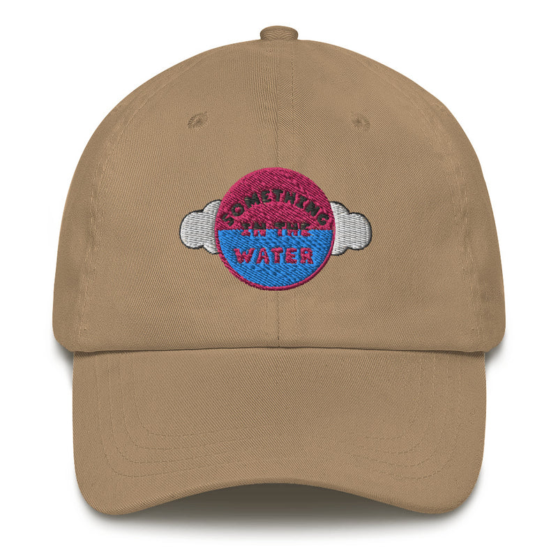 Something in the water Dad hat - Pharrell Williams Festival Merch inspired-Khaki-Archethype