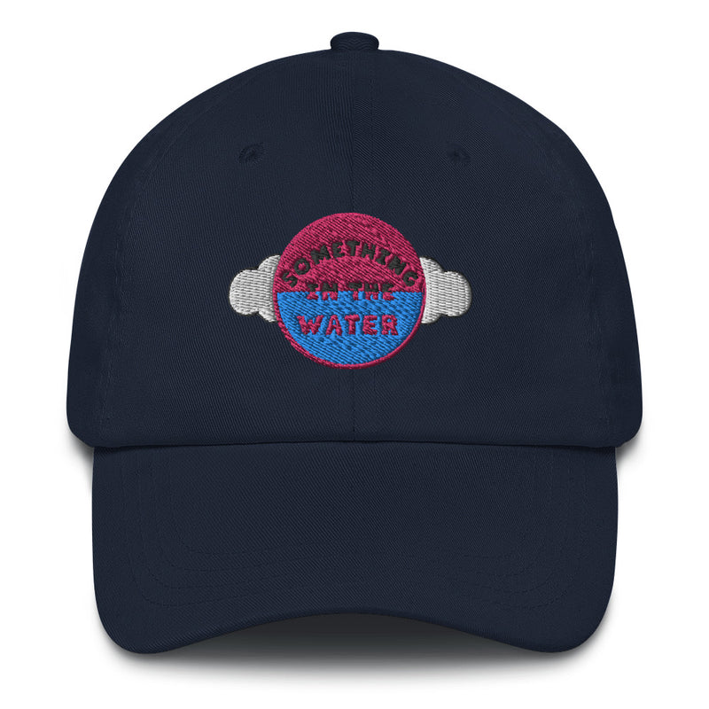 Something in the water Dad hat - Pharrell Williams Festival Merch inspired-Navy-Archethype