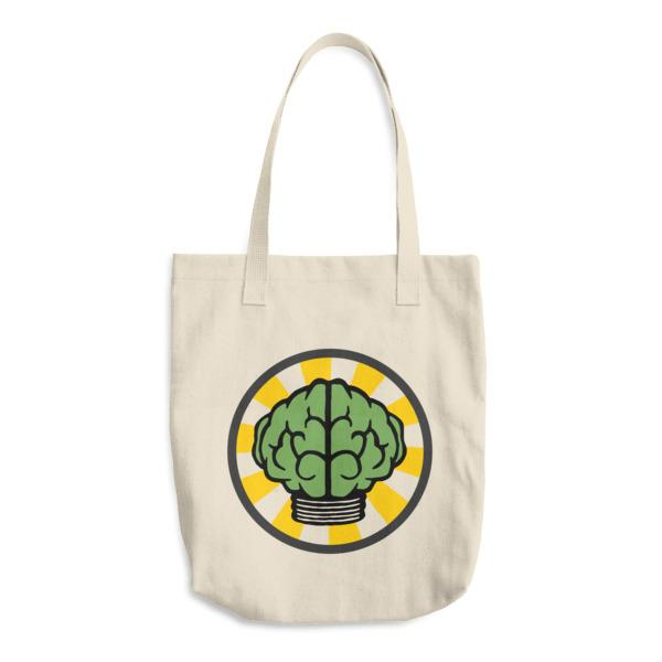 N*E*R*D Brain Cotton Tote Bag-Archethype