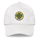 NERD Brain logo embroidery Dad cap snapback. Pharrell Williams, Chad Hugo & Shay Haley.-White-Archethype