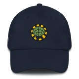 NERD Brain logo embroidery Dad cap snapback. Pharrell Williams, Chad Hugo & Shay Haley.-Navy-Archethype
