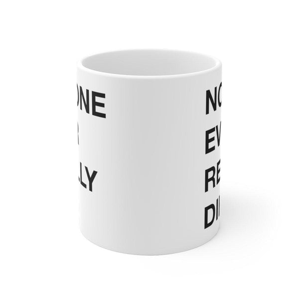 N*E*R*D NO_ONE ever really dies Mug-Archethype