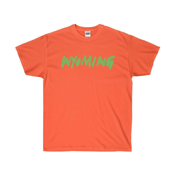 Wyoming Kanye West Ye 2018 Album Cover Tee-Orange-L-Archethype