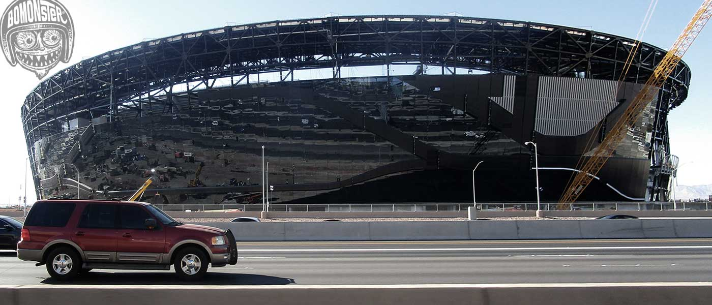 raider stadium las vegas construction