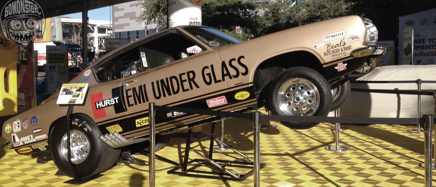 hemi under glass sema show