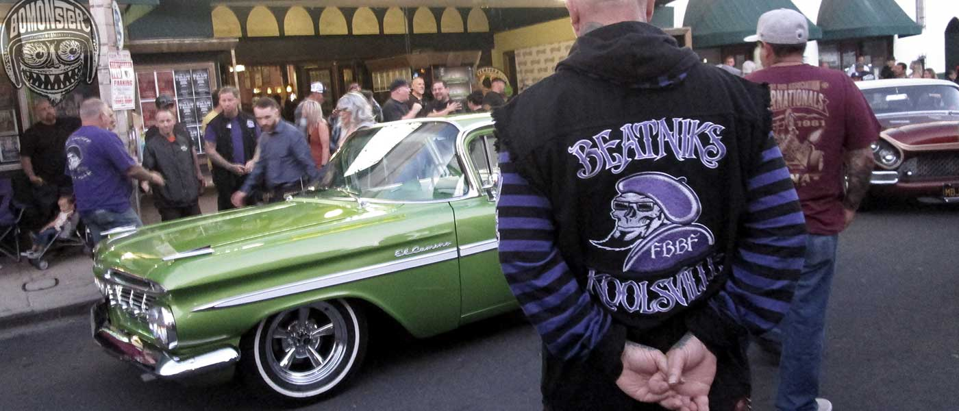 beatniks car club jacket ventura nationals