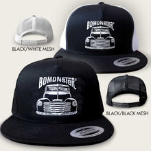Load image into Gallery viewer, vintage chevy truck trucker hat by bomonster