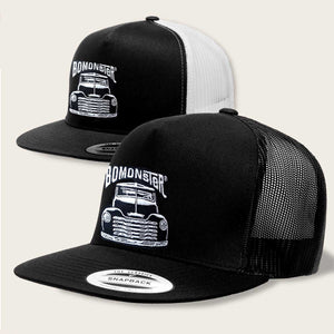 chevy truck mesh back trucker hat by bomonster
