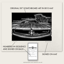 "Load image into Gallery viewer, Original Dodge Charger Art ""Daytona #4"""