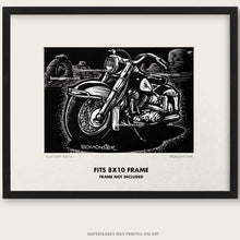 "Load image into Gallery viewer, Original Harley Motorcycle Art ""Electra Arch #1"""