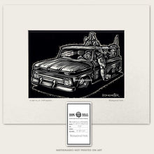 Load image into Gallery viewer, chevy c-10 truck monster driver by bomonster