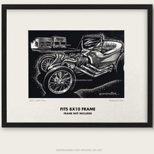 "Load image into Gallery viewer, Original Ed Roth Art ""Roth Outlaw #2"""