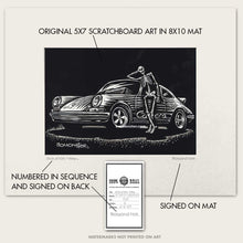 "Load image into Gallery viewer, Original Porsche Art ""Skeleton Crew #6"""
