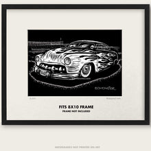 "Load image into Gallery viewer, Original Custom Car Art ""Sled #1"""