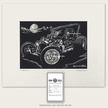 Load image into Gallery viewer, vintage t-bucket hot rod by bomonster