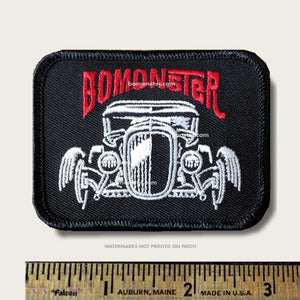 patch with model a hot rod front view