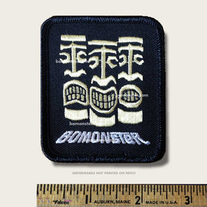 bomonster patch with three tikis
