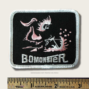 girl stick welding patch by bomonster