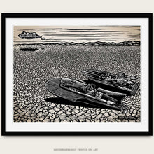 Load image into Gallery viewer, Original Drag Boats Art