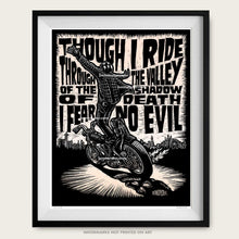 "Load image into Gallery viewer, Original Motorcycle Art ""Psalm 23"""